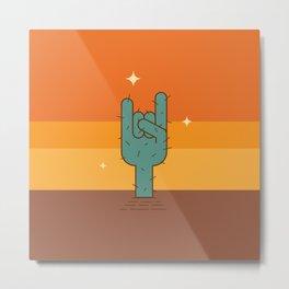Rockin' Sunset Metal Print