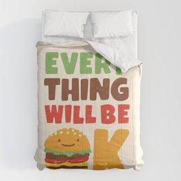 Feed Your Feelings Comforters