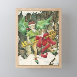 Thorn the Holly Kingdom Gatekeeper Framed Mini Art Print