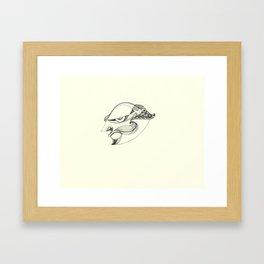 Villain Framed Art Print