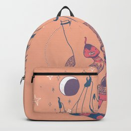the snake and the moon Backpack