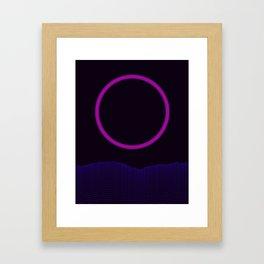 EKlips Framed Art Print