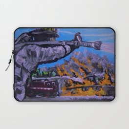 Air Force Fire Fighter Laptop Sleeve