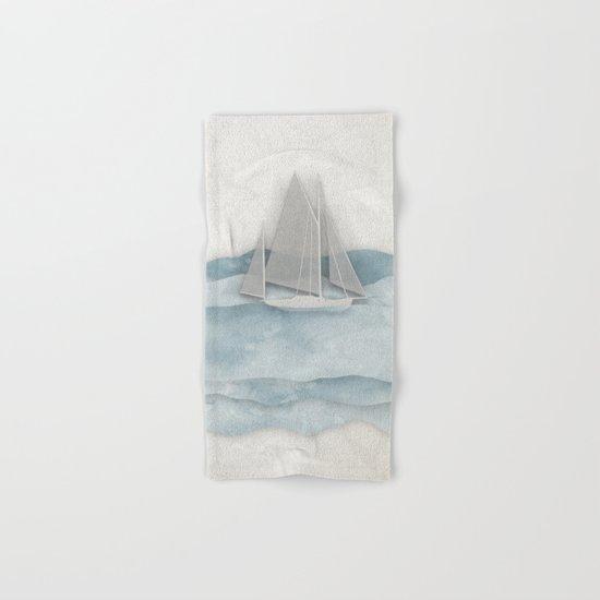 Floating Ship Hand & Bath Towel