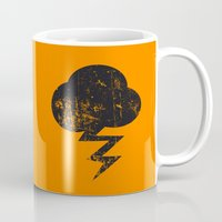 misfits Mugs featuring Cloud and Storm by Nxolab