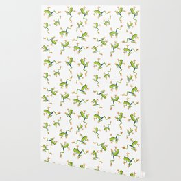 Greenery tree-frog Wallpaper
