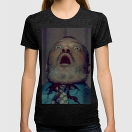 Scared Face Laurence Fishburn T-shirt