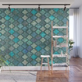 Moroccan Inspired Precious Tile Pattern Wall Mural