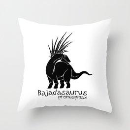 Bajadasaurus 2 Throw Pillow