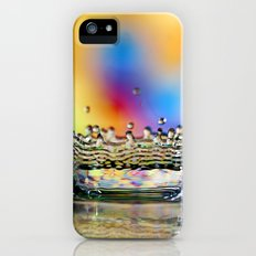 Colorful Crown iPhone (5, 5s) Slim Case