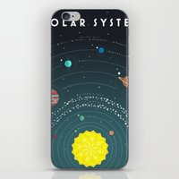solar system iPhone & iPod Skins featuring Solar System by scarriebarrie