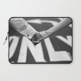 Hand In Hand | Love | Engagement Laptop Sleeve