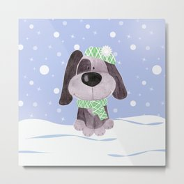 Funny puppy.2 Metal Print