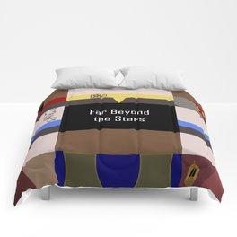 DS9 - Far Beyond the Stars - Minimalist Star Trek DS9 Deep Space Nine - startrek - Trektangles Comforters
