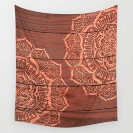 Wood Panel Mandalas Wall Tapestry