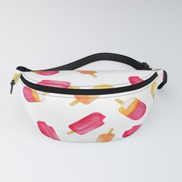 watercolor popsicle pattern Fanny Pack