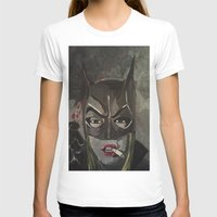 gotham T-shirts featuring Gotham Vixen by Paintings That Pop