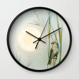 A brief respite variation Wall Clock