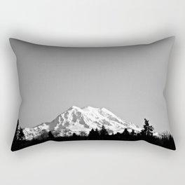 Mt. Rainier Rectangular Pillow