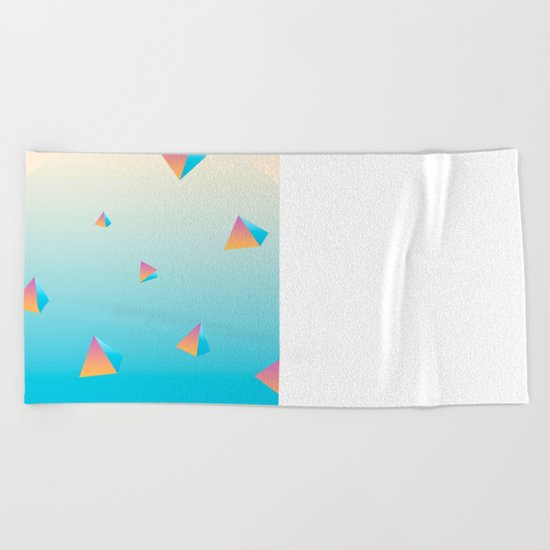 Scattered Beach Towel