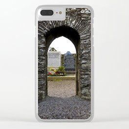 Monasterboice Clear iPhone Case