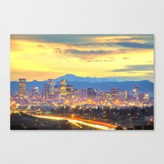 The Mile High City Canvas Print