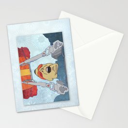 Sky dive Stationery Cards