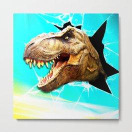 t - rex Metal Print
