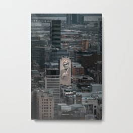 City view of Montreal Metal Print