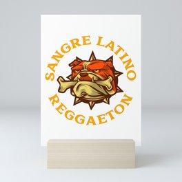 Sangre Latino Reggaeton Mini Art Print
