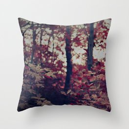 Bewitching Forest Throw Pillow