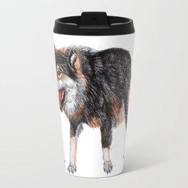 wolf 3  Travel Mug