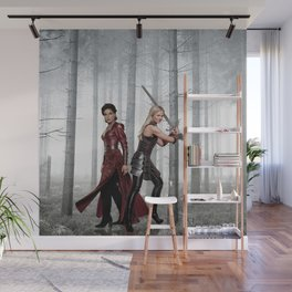 SwanQueen Enchanted Forest Wall Mural