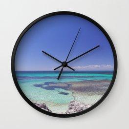 Rottnest Island Basin 2 Wall Clock