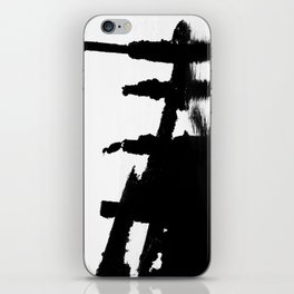 Perched Cormorant. iPhone Skin