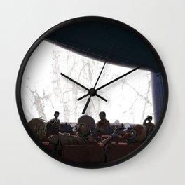 Tales of the Streets II Wall Clock
