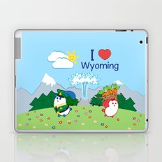 Ernest and Coraline   I love Wyoming Laptop & iPad Skin