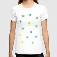 polka dot T-shirts featuring Polka dot by Jen Eva