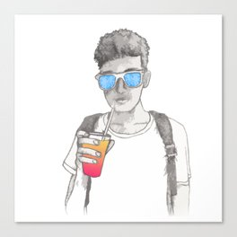 Summer boy Canvas Print