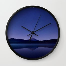 Iceland in the Evening Wall Clock