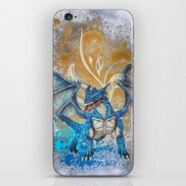 Blue Dragon iPhone Skin
