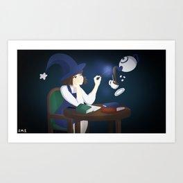 Breaktime Art Print