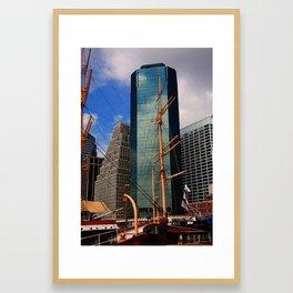 South Street Seaport - New York 2009 Framed Art Print