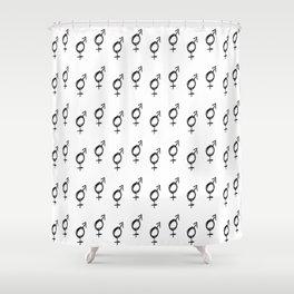 Symbol of Transgender XVII Shower Curtain