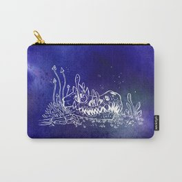 Dino skull – Blue Carry-All Pouch