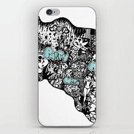 Party with me iPhone Skin