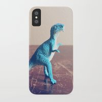 dinosaur iPhone & iPod Cases featuring Dinosaur  by They Come Along