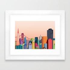 City San Francisco Framed Art Print