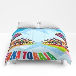 Toraja Land In Pop Art Comforters
