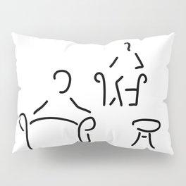 psychologist psychotherapist psychotherapie Pillow Sham